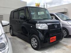 沖縄の中古車 ホンダ N BOX 車両価格 65万円 リ済込 平成24年 7.2万K ブラック
