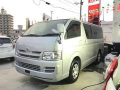 沖縄の中古車 トヨタ ハイエースバン 車両価格 79万円 リ済込 平成20年 8.3万K シルバー