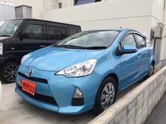 沖縄の中古車 トヨタ アクア 車両価格 59万円 リ済込 平成24年 9.9万K ライトブルー