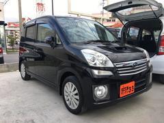 沖縄の中古車 スバル ステラ 車両価格 29万円 リ済込 平成21年 11.2万K ブラック
