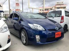 沖縄の中古車 トヨタ プリウス 車両価格 89万円 リ済込 平成21年 12.1万K ブルー