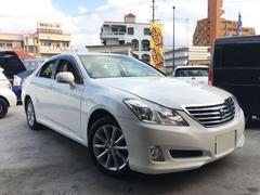 沖縄の中古車 トヨタ クラウン 車両価格 109万円 リ済込 平成20年 8.4万K パール