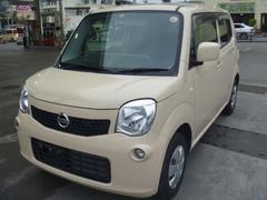 沖縄の中古車 日産 モコ 車両価格 59万円 リ済込 平成25年 4.5万K ミルクティーベージュM