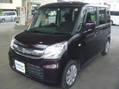 沖縄の中古車 スズキ スペーシア 車両価格 114万円 リ済込 平成29年 0.9万K ダークパープル