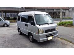 うるま市 AUTO WORKS MIYAGI スバル サンバーバン  シルバー 160.0万K 平成17年
