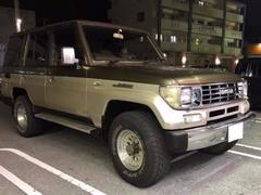 沖縄の中古車 トヨタ ランドクルーザープラド 車両価格 75万円 リ済込 平成3年 20.0万K ブラウンII