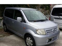 沖縄の中古車 日産 オッティ 車両価格 10万円 リ済込 平成18年 12.0万K クールシルバーM
