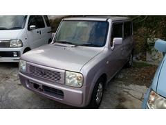 沖縄の中古車 スズキ アルトラパン 車両価格 15万円 リ済込 平成14年 13.0万K ライトパープル