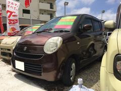 沖縄の中古車 スズキ MRワゴン 車両価格 25万円 リ済込 平成18年 9.6万K ブラウン