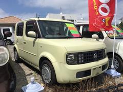沖縄の中古車 日産 キューブ 車両価格 18万円 リ済込 平成16年 9.8万K イエロー
