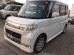 沖縄の中古車 ダイハツ タント 車両価格 51万円 リ済込 平成20年 10.2万K パールホワイトIII