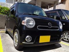沖縄の中古車 ダイハツ ミラココア 車両価格 65万円 リ済別 平成24年 4.9万K ブラックメタリック