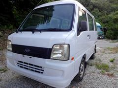 沖縄の中古車 スバル サンバーバン 車両価格 18万円 リ済込 平成17年 14.8万K ホワイト
