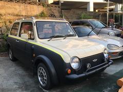 沖縄の中古車 日産 パオ 車両価格 55万円 リ済込 平成2年 14.0万K ブラックII