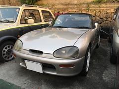 沖縄の中古車 スズキ カプチーノ 車両価格 56万円 リ済込 平成5年 14.5万K シルバー