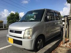 沖縄の中古車 スズキ ワゴンR 車両価格 12万円 リ済込 平成15年 17.3万K シルバー