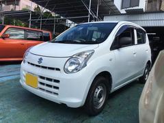 沖縄の中古車 スズキ アルト 車両価格 24万円 リ済込 平成22年 7.6万K ホワイト