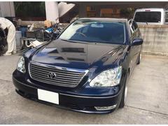 沖縄の中古車 トヨタ セルシオ 車両価格 78万円 リ済込 平成18後 11.3万K 紺II