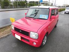 沖縄の中古車 スズキ アルトラパン 車両価格 30万円 リ済込 平成14年 11.0万K ピンクホワイト