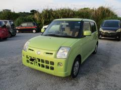 沖縄の中古車 日産 ピノ 車両価格 37.8万円 リ済込 平成19年 6.4万K Lグリーン