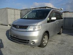沖縄の中古車 日産 セレナ 車両価格 49.8万円 リ済込 平成19年 10.3万K シルバー