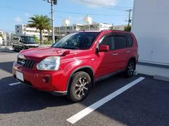 沖縄の中古車 日産 エクストレイル 車両価格 55万円 リ済込 平成20年 9.8万K バーニングレッド