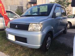 沖縄の中古車 三菱 eKワゴン 車両価格 11万円 リ済込 平成13年 16.7万K シルバー