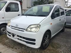 沖縄の中古車 ダイハツ ミラ 車両価格 20万円 リ済込 平成18年 11.5万K ホワイト