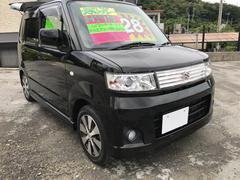 沖縄の中古車 スズキ ワゴンR 車両価格 28万円 リ済込 平成19年 8.0万K ブラック