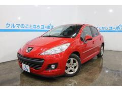 沖縄の中古車 プジョー プジョー 207 車両価格 55万円 リ済別 2010年 6.2万K アデン・レッド