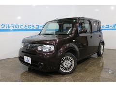 沖縄の中古車 日産 キューブ 車両価格 35万円 リ済別 平成22年 10.3万K ビターショコラP