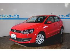沖縄の中古車 フォルクスワーゲン VW ポロ 車両価格 68万円 リ済別 2011年 6.2万K フラッシュレッド