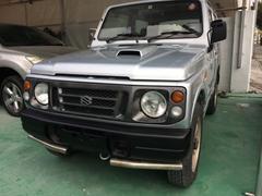 うるま市 Auto Garage S スズキ ジムニー ワイルドウインド マーキュリーシルバーメタリック 12.9万K 平成7年