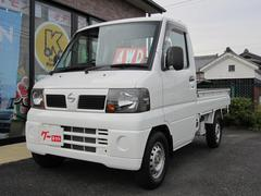 NT100クリッパートラックSD 4WD 3方開 荷台マット