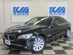 BMW740iプラスパッケージ SR 黒革S−H ナビTV