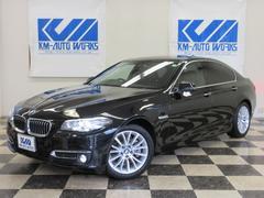 BMW523iラグジュアリー 黒革 シートヒーター ACC