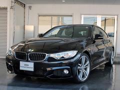BMW435iグランクーペ Mスポーツ 黒革 19AW ACC