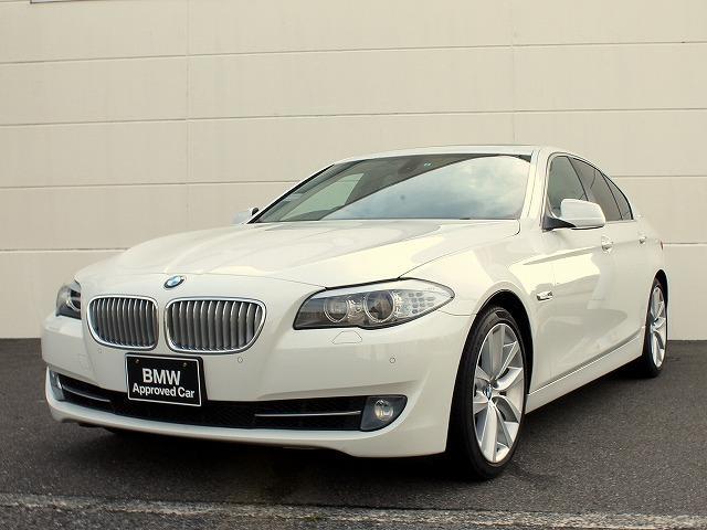 BMW 5シリーズ アクティブハイブリッド5 サンルーフ 黒革 フ...
