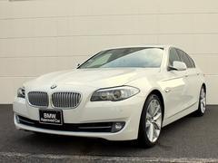 BMWアクティブハイブリッド5 サンルーフ 黒革 フルセグ