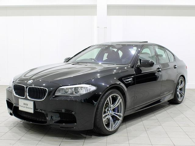 BMW M5 M5 全国1年保証 HiFiスピーカー 黒革 (車検...