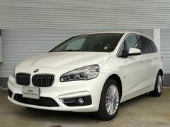 BMW218iグランツアラー ACC HUD 黒革 オートトランク