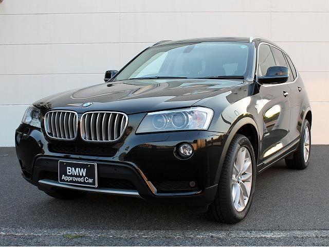 BMW X3 xDrive 28i ハイラインパッケージ 黒革 1...