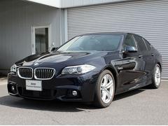 BMW523d Mスポーツ LCIモデル マルチディスプレイ