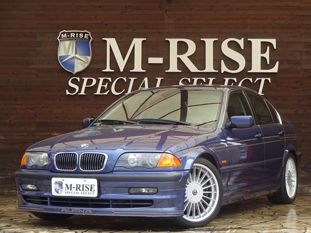 BMWアルピナ 3.3 左ハンドル サンルーフ ブラックレザーシート