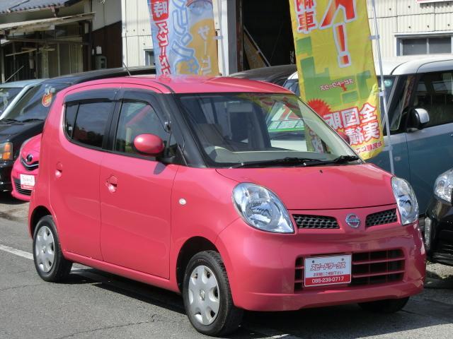 日産 モコ Eインテリキー新車ワンオーナー禁煙車タイミングチェーン...