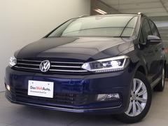 VW ゴルフトゥーランTSIハイライン純正ナビLEDヘッドライト新車保証継承