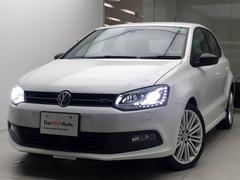 VW ポロブルーGT SDナビAクルーズリアカメラ認定中古車1年保証