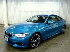 BMW420iクーペ MスポーツナイトブルーレザーACC 19AW