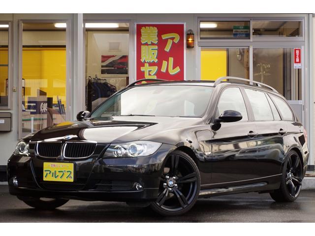 BMW 3シリーズ 320iツーリング ローダウン 19AW ホワ...