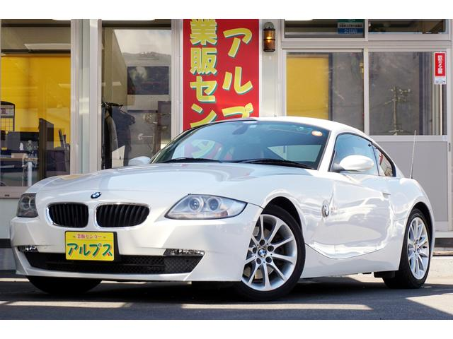 BMW Z4 クーペ3.0si 赤革シートヒーター コーナーセンサ...